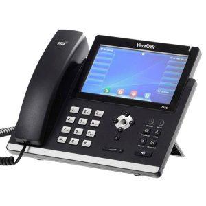 TELÉFONO ELEGANTE SIP-T48G PARA EJECUTIVOS DE NEGOCIOS