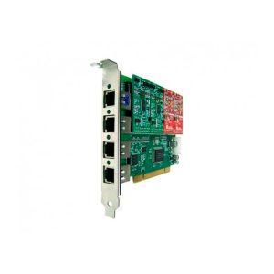 OPENVOX A400P40 OFRECE UNA INTERFAZ PCI DE 4 PUERTOS FXS